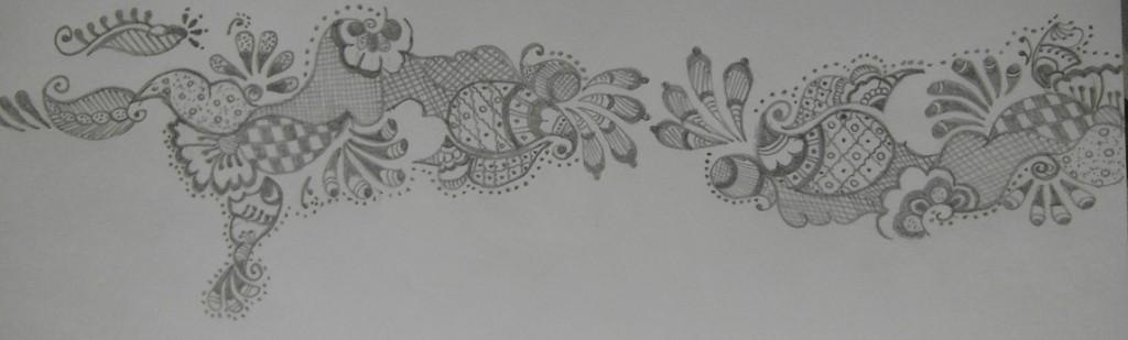 Mehndi Sketch 1
