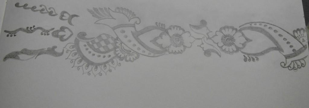 Mehndi Sketch 2